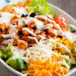 BBQ-s csirke saláta - Park pizza és étterem